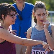 Sarah préfère la course: la regista Chloé Robichaud sul set con Sophie Desmarais