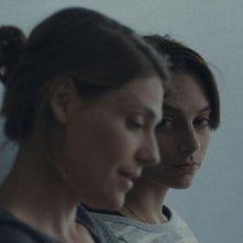 Sarah préfère la course: Sophie Desmarais in un'immagine del film con Hélène Florent