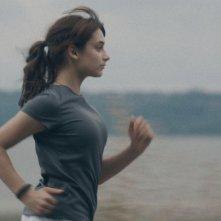 Sarah préfère la course: Sophie Desmarais in una scena tratta dal film