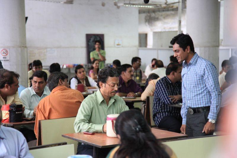 The Lunchbox Irrfan Khan Con Nawazuddin Siddiqui In Una Scena Del Film 273941
