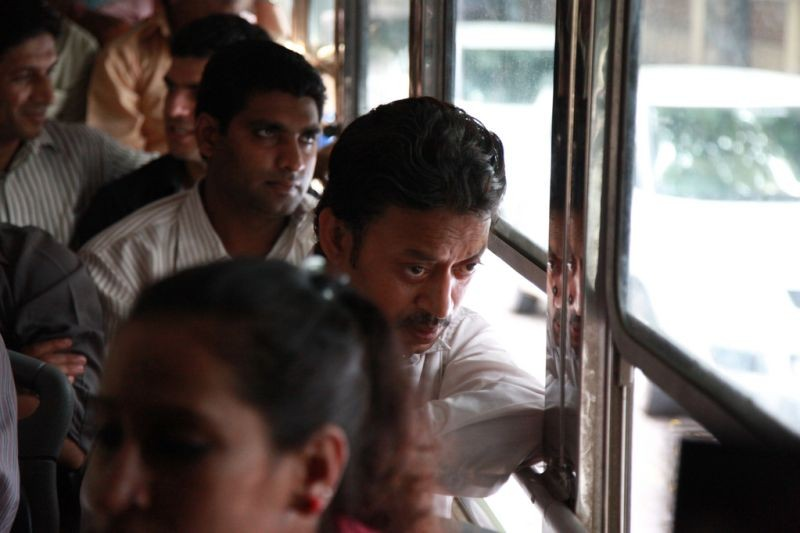 The Lunchbox Irrfan Khan In Autobus In Una Scena 273943