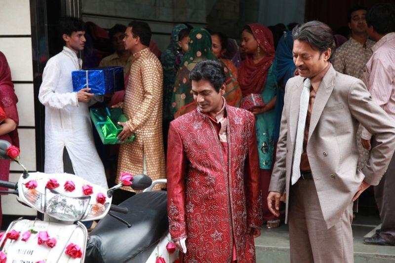 The Lunchbox Irrfan Khan Insieme A Nawazuddin Siddiqui In Una Scena Del Film 273942