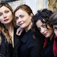 Una mamma imperfetta: foto promozionale di gruppo per le protagoniste