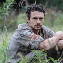 As I Lay Dying: un primo piano di James Franco sul set del film