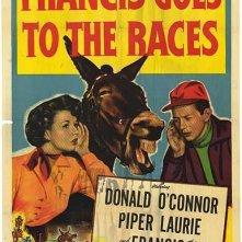 Francis alle corse: la locandina del film