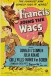 Francis Joins the WACS: la locandina del film