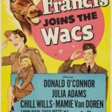 Francis Joins the WACS: la locandina del film