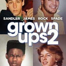 Grown Ups 2: nuovo poster in stile 'Come eravamo'