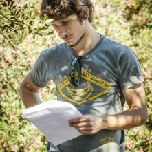 Riccardo Cannella sul set di Run Away The Series