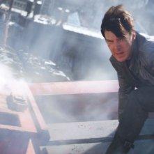 Benedict Cumberbatch in un'immagine tratta da Into Darkness - Star Trek