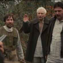 Bite the Dust: Maxim Vitorgan, Dmitry Kulichkov e Sergey Abroskin in una scena