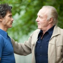 Blood ties: Billy Crudup insieme a James Caan in una scena del film