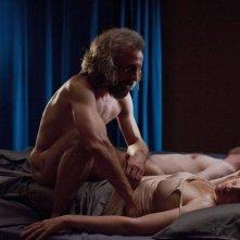 Borgman: Jan Bijvoet in una scena insieme a Hadewych Minis