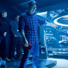 Il regista J.J. Abrams sul set di Into Darkness - Star Trek
