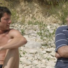 L'inconnu du lac: Pierre de Ladonchamps insieme a Patrick d'Assumçao in una scena del film