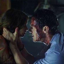Luke Evans in No One Lives: una scena del film