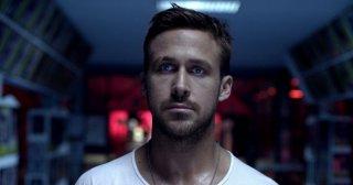 Un intenso primo piano di Ryan Gosling tratto da Only God Forgives