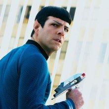 Zachary Quinto è Spock in Into Darkness - Star Trek