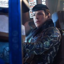 Zachary Quinto nei panni di Spock in Into Darkness - Star Trek