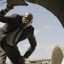 Zulu: Forest Whitaker nei panni di Ali, capo della omicidi di Cape Town, in una scena