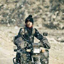 A Touch of Sin: Baoqiang Wang in una scena del film