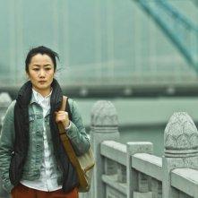 A Touch of Sin: la protagonista Zhao Tao in una scena del film