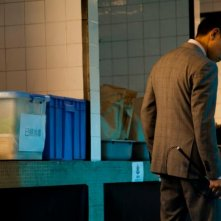 Blind Detective: Andy Lau in una scena del film d'azione di Johnnie To