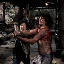 Blind Detective: Sammi Cheng in una concitata scena del film
