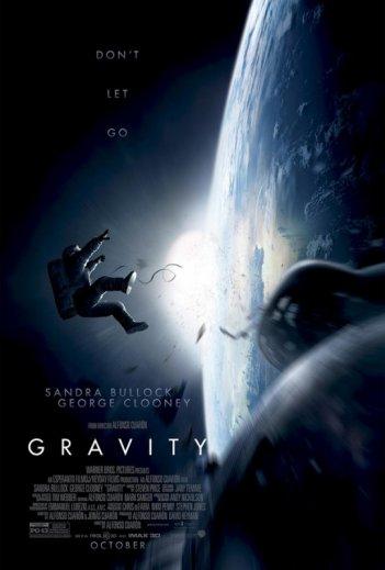 Gravity: la locandina del film