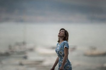 A Castle in Italy: la regista e interprete Valeria Bruni Tedeschi in una scena