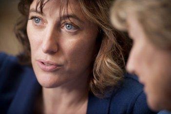 A Castle in Italy: la regista e interprete Valeria Bruni Tedeschi in una scena del film