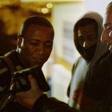 Après la nuit: il regista Basil da Cunha sul set con gli attori