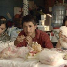 Heli: i giovani protagonisti del film in una scena