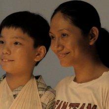 Ilo Ilo: Angeli Bayani e Koh Jia Ler in una scena