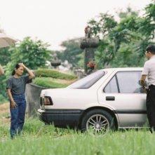 Ilo Ilo: Yeo Yann Yann, Chen Tianwen, Angeli Bayani e Koh Jia Ler in una scena