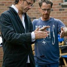 Inside Llewyn Davis: i registi Joel e Ethan Coen sul set