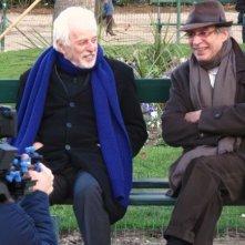 Jodorowsky's Dune: Alejandro Jodorowsky in una scena del documentario a lui dedicato con il produttore Michel Seydoux