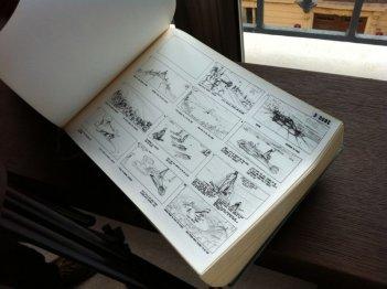 """Jodorowsky's Dune: il libro """"Dune"""" in un'immagine del documentario"""