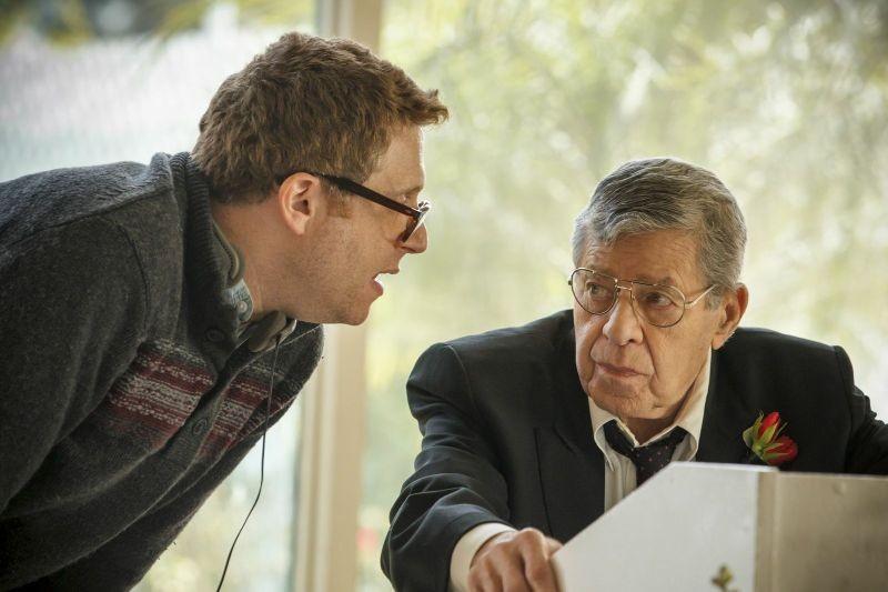 Max Rose: il regista Daniel Noah con Jerry Lewis sul set