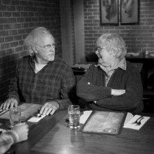 Nebraska: Bruce Dern e June Squibb in una scena del film