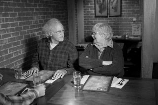 Nebraska: Bruce Dern e June Squibb in una scena del film