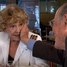 Un voyageur: Jeanne Moreau con Marcel Ophuls in una scena