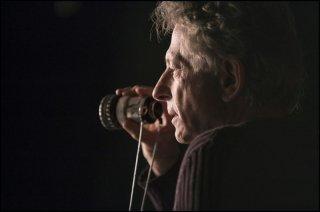 Venere in pelliccia: il regista Roman Polanski sul set
