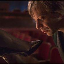 Venere in pelliccia: Mathieu Amalric in una scena del film di Roman Polanski