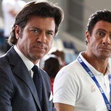 Come un delfino la serie: Paolo Conticini e Marco Falaguasta in una scena della fiction