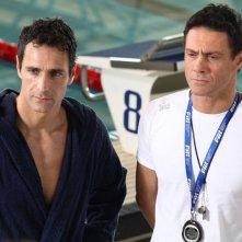 Come un delfino la serie: Raoul Bova e Marco Falaguasta in una scena della fiction