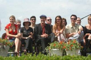 Dawson's Creek: il cast celebra la fine delle riprese nel maggio 2003 a Wilmington, North Carolina