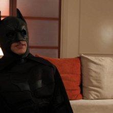 Peppe Coco sul set della web series Inside Batman