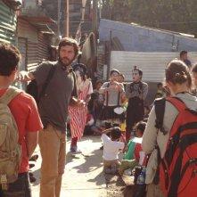 La jaula de oro: il regista Diego Quemada-Diez sul set del film