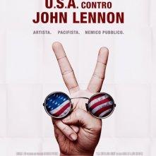 La locandina di U.S.A. contro John Lennon